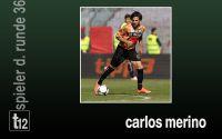 Weiterlesen: Der Spieler der 36. Runde: Carlos Merino