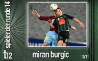 Weiterlesen: Der Spieler der 14. Runde: Miran Burgic