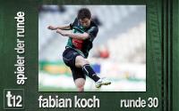 Weiterlesen: Der Spieler der 30. Runde: Fabian Koch