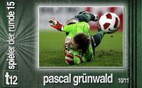 Weiterlesen: Der Spieler der 15. Runde: Pascal Grünwald