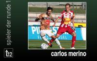 Weiterlesen: Der Spieler der 1. Runde: Carlos Merino