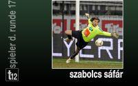 Weiterlesen: Spieler der 17. Runde: Szabolcs Sáfár