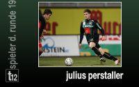 Weiterlesen: Der Spieler der 19. Runde: Julius Perstaller
