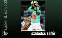 Weiterlesen: Der Spieler der 22. Runde: Szabolcs Sáfár