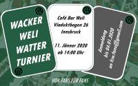 Weiterlesen: Wacker Weli Watter Turnier