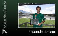 Weiterlesen: Der Spieler der 36. Runde: Alexander Hauser