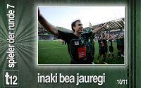 Weiterlesen: Der Spieler der 7. Runde: Inaki Bea Jauregi