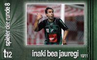 Weiterlesen: Der Spieler der 8. Runde: Inaki Bea Jauregi