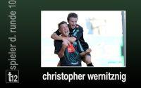 Weiterlesen: Der Spieler der 10. Runde: Christopher Wernitznig