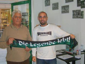 Leo Tschenett und Erwin Gassler